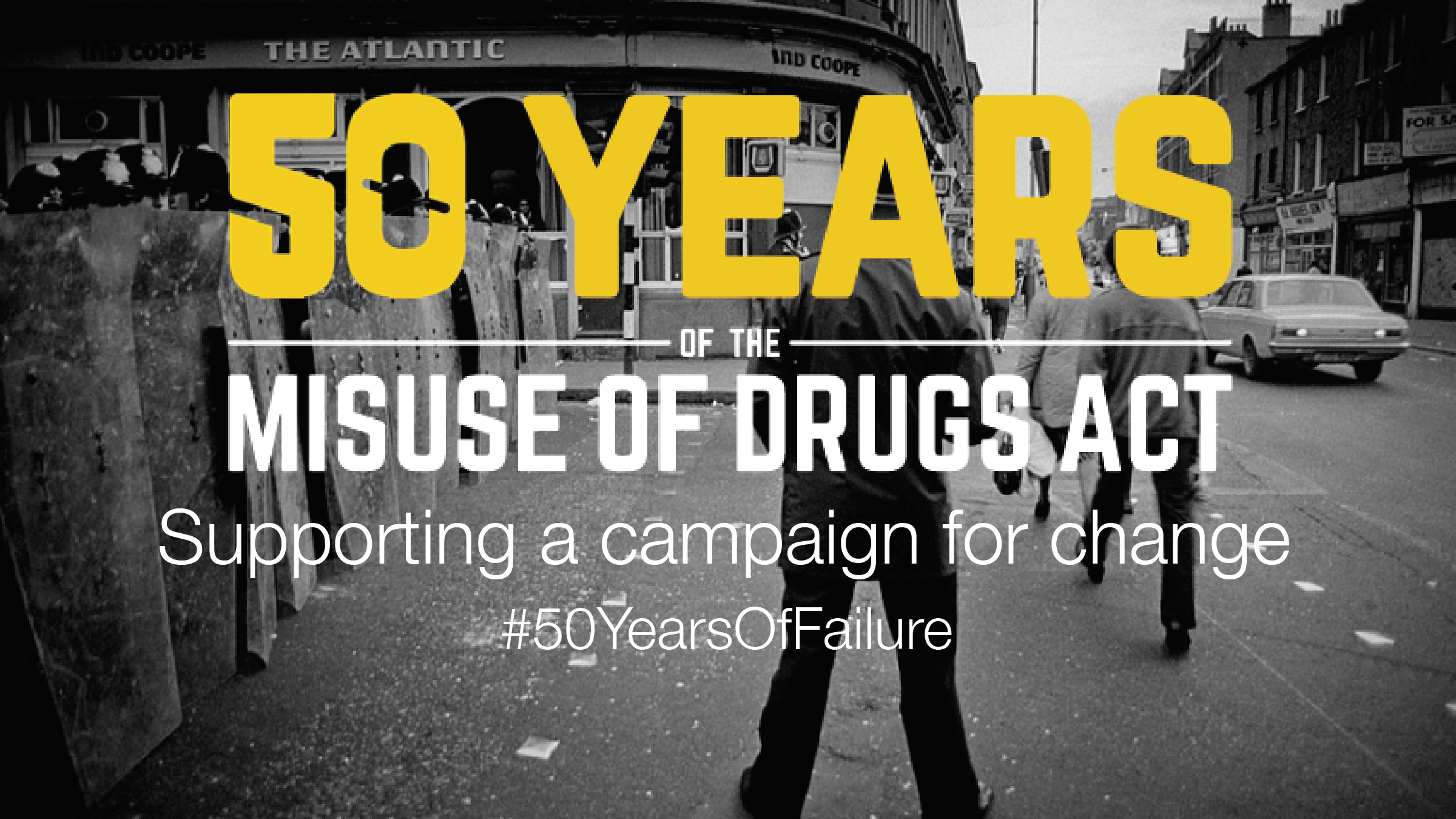 For fifty years the Misuse of Drugs Act has damaged people and communities, undermined science and entrenched social injustice