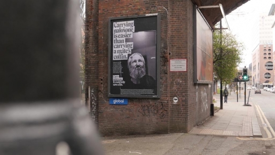 New UK Overdose Awareness & Naloxone Poster Campaign. Source: Naloxone.org.uk