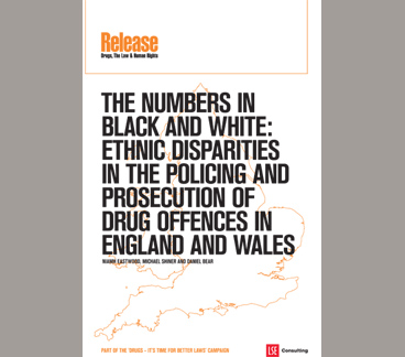 The Numbers in Black And White: Ethnic Disparities In The Policing And Prosecution Of Drug Offences In England And Wales