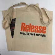 Tote Bag Commemorating Release's 50th Anniversary